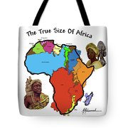Africa In Perspective Tote Bag