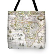 Africa Nova Map Tote Bag