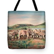 Africa Tote Bag by Rosemary Kavanagh