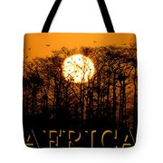 Africa Smart Phone Work A Tote Bag