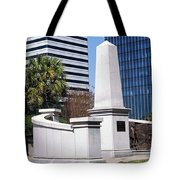 African American History Monument Tote Bag