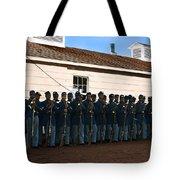 African American Troops In Us Civil War - 1965 Tote Bag