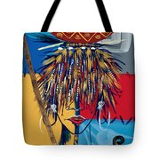 African Beauty 2 Tote Bag