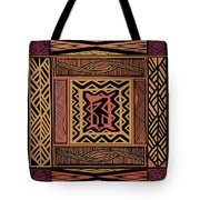 African Bird Collage Tote Bag
