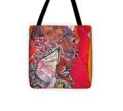 African Crown Tote Bag
