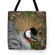 African Crowned Crane #8 Tote Bag