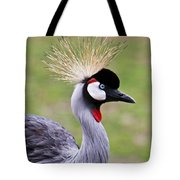 African Crowned Crane Tote Bag