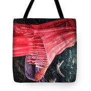 African Damsel Tote Bag