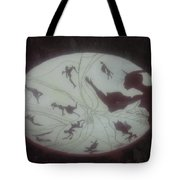 African Dance Stool Tote Bag