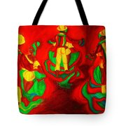 African Dancers Tote Bag