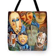 African Eclectic Tote Bag