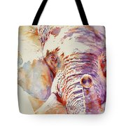 African Elephant _ The Governor Tote Bag