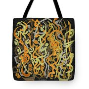 African Grass Fire Tote Bag
