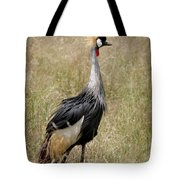 African Grey Crowned Crane Tote Bag