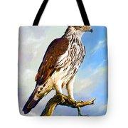 African Hawk Eagle Tote Bag
