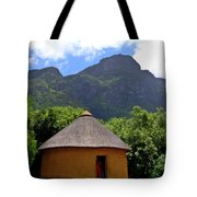 African Hut South Africa Tote Bag