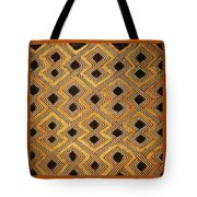 African Kuba Design Tote Bag