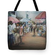 African Market Tote Bag