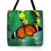 African Monarch Tote Bag