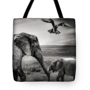 African Playground Tote Bag