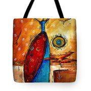African Queen Original Madart Painting Tote Bag