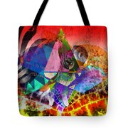African Story In Three Time Travels Tote Bag
