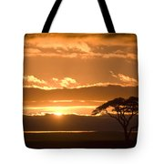 African Sunrise Tote Bag