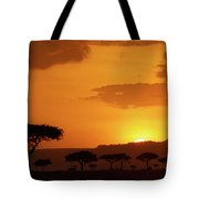 African Sunrise Tote Bag
