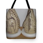 African Terracotta Gourds - View Three Tote Bag
