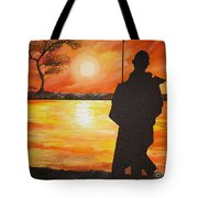 African Watchman Tote Bag