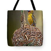 Weaver Nest Tote Bag
