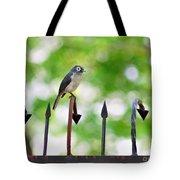 African White-eye Bird Tote Bag