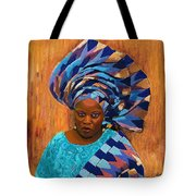 African Woman 5 Tote Bag
