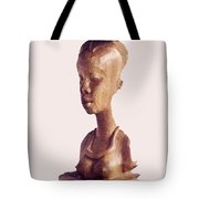 African Woman Bust Tote Bag