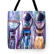 African Women Tote Bag