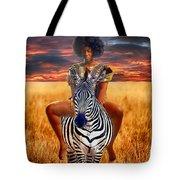 Afrikkan Princess  Tote Bag