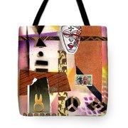 Afro Collage - E Tote Bag