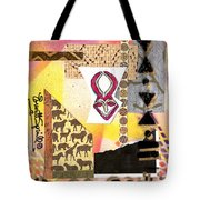 Afro Collage - F Tote Bag