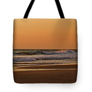 After A Sunset Tote Bag by Sandy Keeton