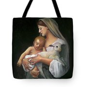 After Bouguereau Tote Bag