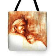After Geronimo Tote Bag by Johanna Elik