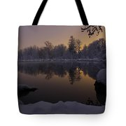 After Glow Tote Bag
