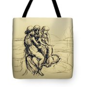 After Leonardo Da Vinci  Tote Bag