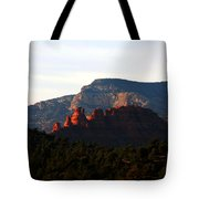 After Sunset In Sedona Tote Bag
