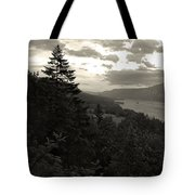 After Sunset On The Columbia Tote Bag