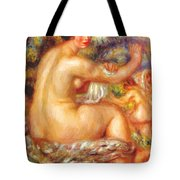 After The Bath 1912 Tote Bag