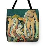 After The Bath Tote Bag by Marie Clementine Valadon