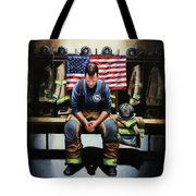 After The Fire Tote Bag
