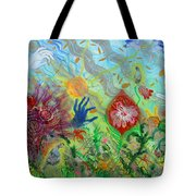 After The Manna Manifestation Of The Quail Tote Bag