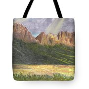 After The Monsoon Organ Mountains Tote Bag